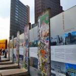 Mauerdenkma am Potsdamer Platz